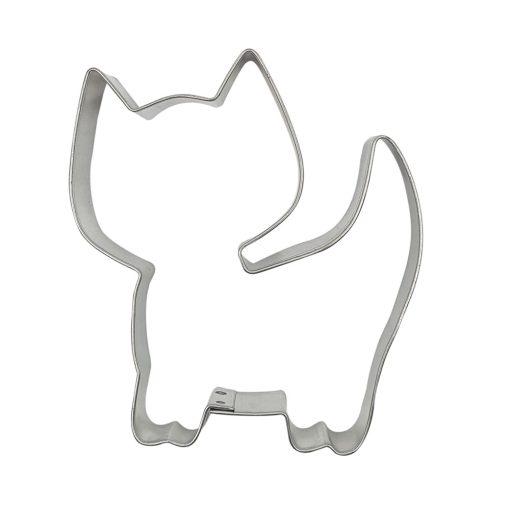 Fém süteménykiszúró – Macska